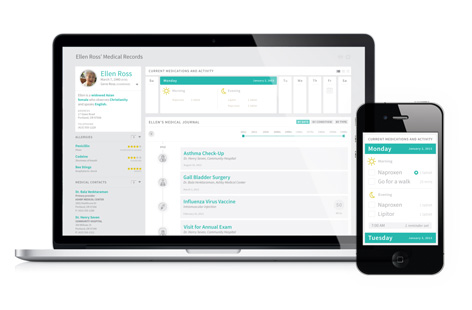 Health Design Challenge: d+collab // THE PATIENT RECORD